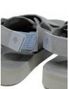 Sandali Descente x Suicoke grigi per AllTerrain prezzo DY1LGE15 GREYshop online