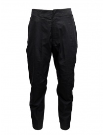 Mens trousers online: Descente AllTerrain black Relxed Fit Stretch pants