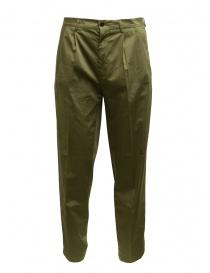 Cellar Door pantaloni da uomo Modlu verde salvia online