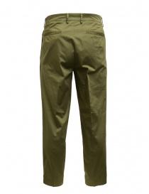 Cellar Door pantaloni da uomo Modlu verde salvia