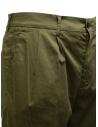 Cellar Door Modlu sage green trousers for man MODLU LF308 76 SALVIA buy online
