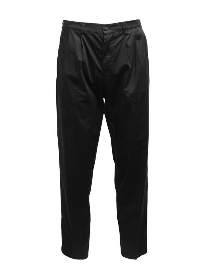 Cellar Door Modlu black trousers for man MODLU LF308 99 NERO mens trousers online shopping