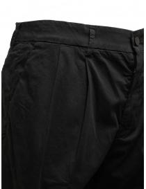 Cellar Door Modlu black trousers for man price