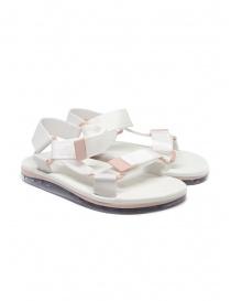 Calzature donna online: Melissa Papete + Rider sandali bianchi e rosa