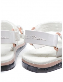 Melissa Papete + Rider white and pink sandals womens shoes price