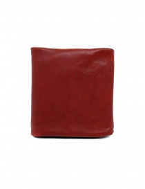 Portafoglio Guidi B7 rosso in pelle di canguro online