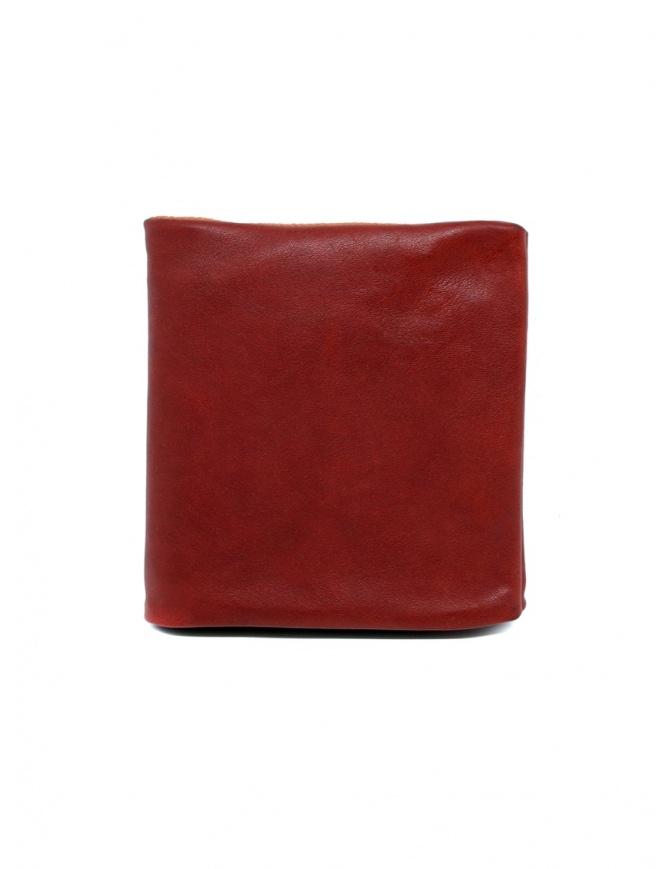 Guidi B7 red kangaroo leather wallet B7 KANGAROO-F6 1006T wallets online shopping