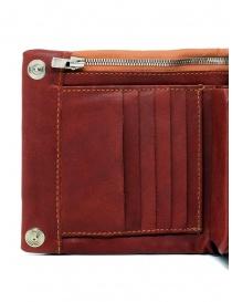 Guidi B7 red kangaroo leather wallet price