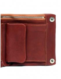 Portafoglio Guidi B7 rosso in pelle di canguro portafogli acquista online