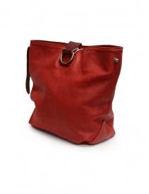 Guidi WK06 borsa a secchiello in pelle di cavallo rossa prezzo