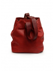 Guidi WK06 bucket bag in red horse leather bags price