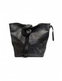 Guidi WK07 tote bag in pelle cavallo nera WK07 SOFT HORSE FULL GRAIN BLKT order online