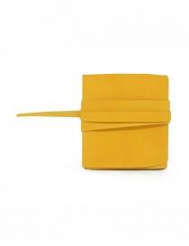 Guidi RP01 portafoglio quadrato giallo