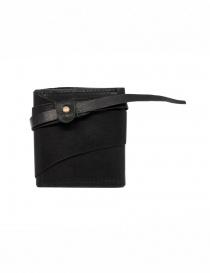 Guidi RP01 portafoglio quadrato nero online