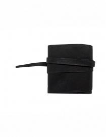 Guidi RP01 portafoglio quadrato nero