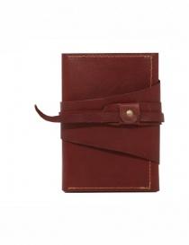 Guidi RP02 1006T portafoglio rosso in pelle di canguro online