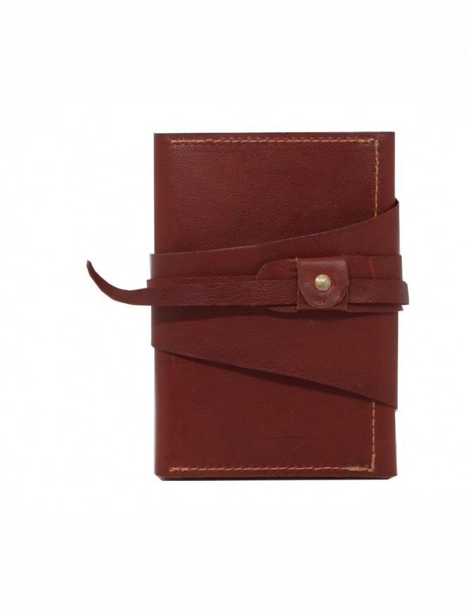 Guidi RP02 1006T portafoglio rosso in pelle di canguro RP02 PRESSED KANGAROO 1006T portafogli online shopping