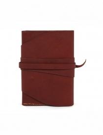 Guidi RP02 1006T portafoglio rosso in pelle di canguro