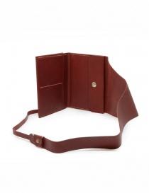Guidi RP02 1006T portafoglio rosso in pelle di canguro prezzo