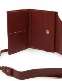 Guidi RP02 1006T portafoglio rosso in pelle di canguro portafogli acquista online