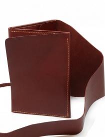 Guidi RP02 1006T portafoglio rosso in pelle di canguro portafogli prezzo