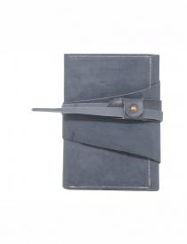 Guidi RP02 CO49T portafoglio grigio in pelle di canguro online