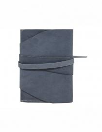 Guidi RP02 CO49T portafoglio grigio in pelle di canguro