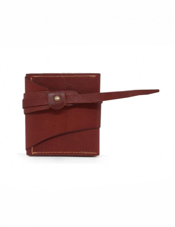 Guidi RP01 portafoglio quadrato rosso RP01 PRESSED KANGAROO 1006T portafogli online shopping