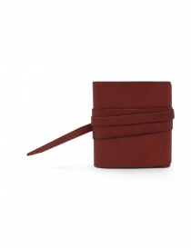 Guidi RP01 red square wallet buy online