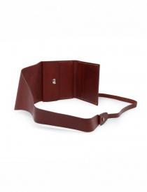 Guidi RP01 portafoglio quadrato rosso prezzo