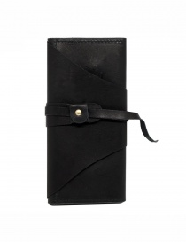Guidi RP03 black leather wallet with sash online