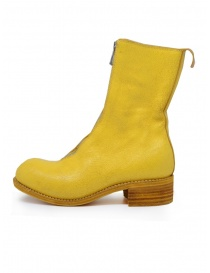 Guidi PL2 Coated yellow horse leather boots