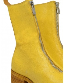 Guidi PL2 Coated yellow horse leather boots womens shoes buy online