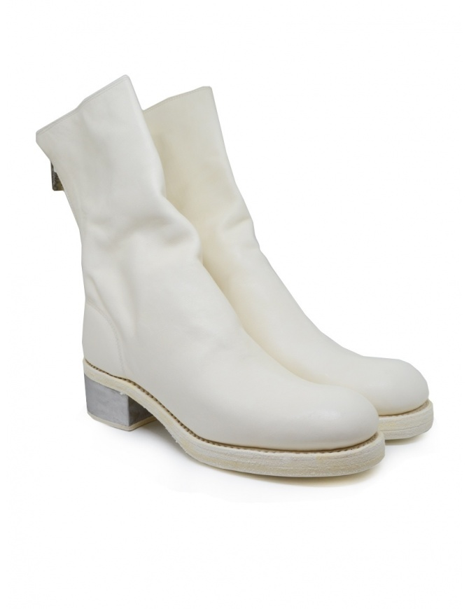 Guidi 788ZI white leather boots with metal heel 788ZI SOFT HORSE FG CO00T womens shoes online shopping