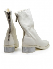 Guidi 788ZI white leather boots with metal heel price