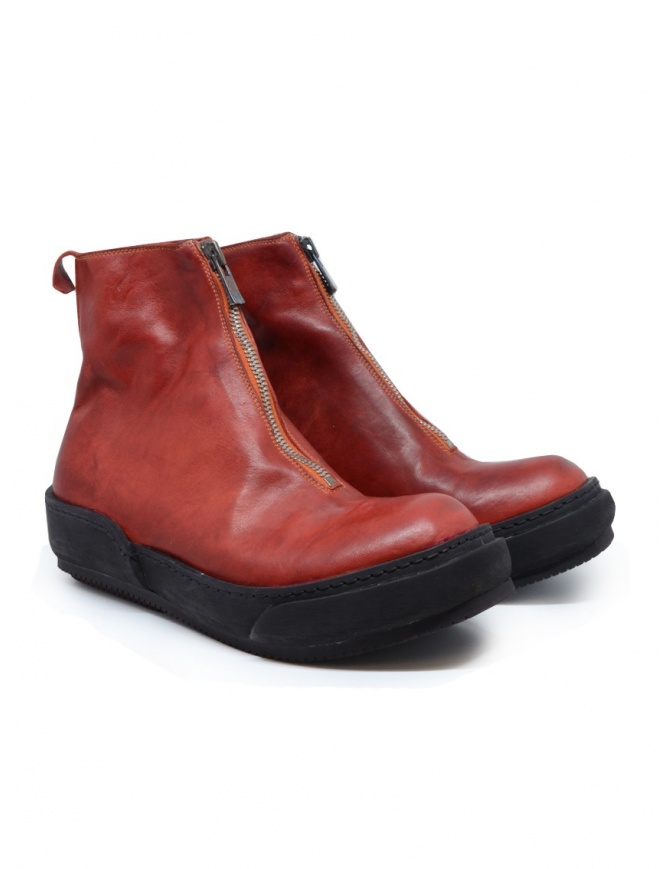 Guidi PLS 1006T red boots PLS SOFT HORSE FG 1006T womens shoes online shopping