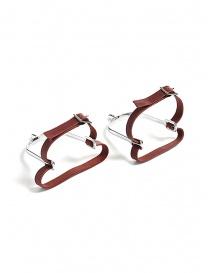 Red Foal speroni in acciaio con lacci in pelle SPERONE order online
