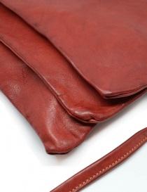 Guidi PKT03M red kangaroo leather bag price
