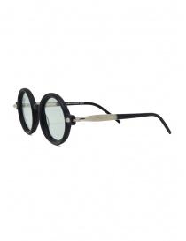 Kuboraum P1 BM occhiali nero opaco