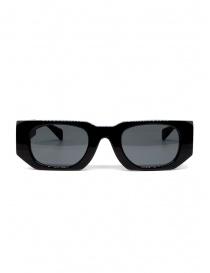 Kuboraum U8 occhiali da sole in acetato nero online