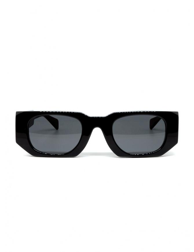 Kuboraum U8 black acetate sunglasses U8 49-25 BS 2GRAY glasses online shopping