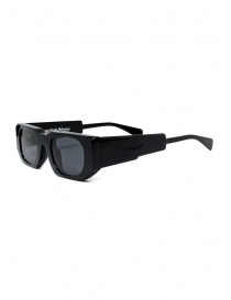 Kuboraum U8 black acetate sunglasses