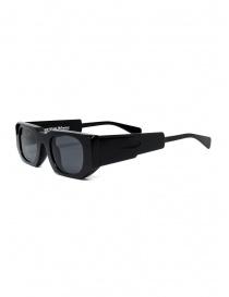 Kuboraum U8 occhiali da sole in acetato nero