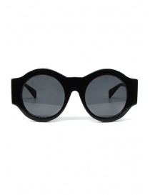 Kuboraum A5 BS black round sunglasses A5 50-21 BS 2GRAY order online