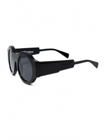 Kuboraum A5 BS black round sunglasses