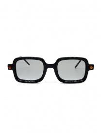 Occhiali online: Kuboraum P2 BS occhiali rettangolari neri e crema