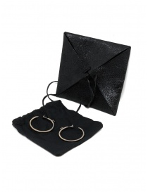 Guidi silver nail earrings