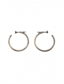 Jewels online: Guidi silver nail earrings