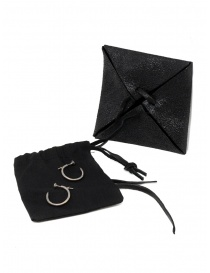 Guidi small silver stud earrings