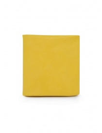 Guidi B7 CO07T wallet in yellow leather B7 KANGAROO FG CO07T